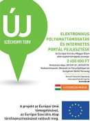 Elektronikus folyamattámogatás és internetes portál bevezetése